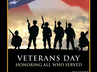 We Appreciate Our Veterans