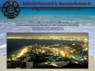 I Asamblea General Ordinaria 2014