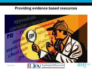 Providing evidence based resources