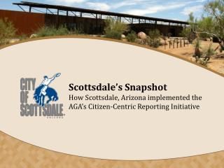 Scottsdale's Snapshot Summary