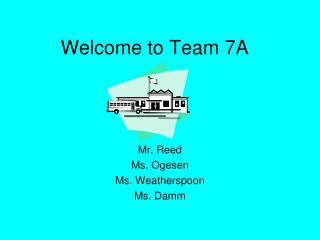 Welcome to Team 7A