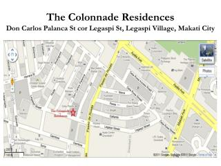 The Colonnade Residences Don Carlos Palanca St cor Legaspi St, Legaspi Village, Makati City