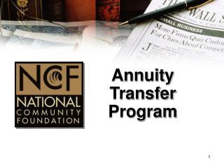 Annuity Transfer Program