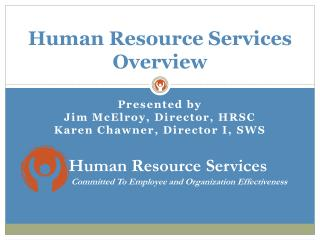 Human Resource Services Overview