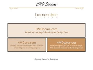HMD gives  Realty Pro's giving the gift of interior design