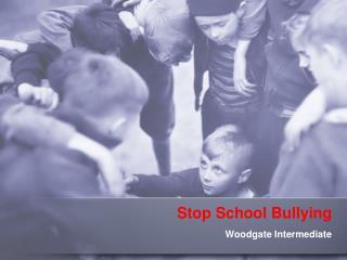 Stop School Bullying