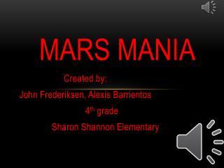 Mars mania
