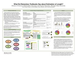 What Do Elementary Textbooks Say about Estimation of Length?