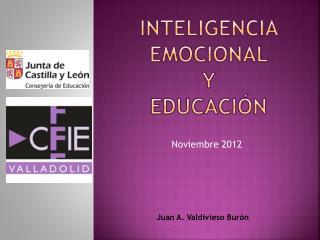 Inteligencia Emocional  y  Educaci�n