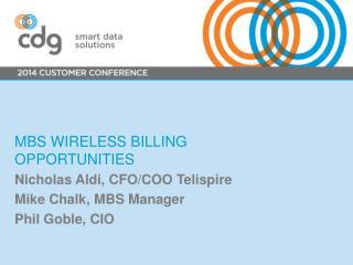 MBS wireless billing opportunities