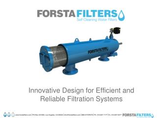 Innovative Design for Efficient and Reliable Filtration Systems