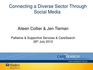 Connecting a Diverse Sector Through Social Media