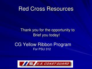 Red Cross Resources
