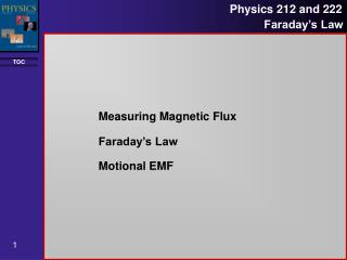 Measuring Magnetic Flux