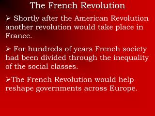 long term causes french revolution Well james, you've done it again, with a rich, and rewarding, as well as educational read on the french revolution/cause and effect the people of france chose the darkness, rather than the lightmakes me wonder in which direction our own country is headed today.