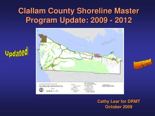 Clallam County Shoreline Master Program Update: 2009 - 2012