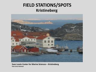 FIELD STATIONS/SPOTS