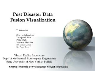 Post Disaster Data Fusion Visualization