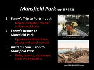 Mansfield Park  (pp.287-372)