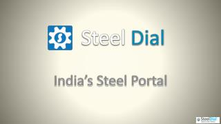 Steel Dial: Steel Markets News in India