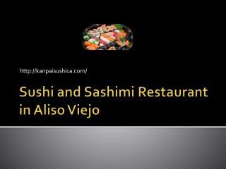 Kanpai Sushi Bar in Aliso Viejo