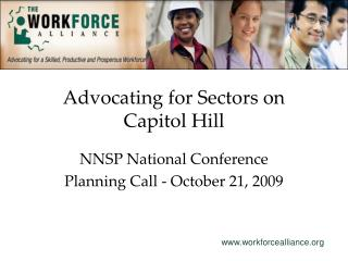 Advocating for Sectors on Capitol Hill