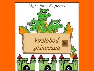 Mgr. Jana Kupková