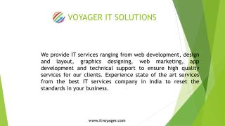 Best IT Services in India