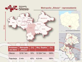 """Metropolia """"Silesia"""" - wprowadzenie"""