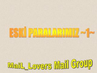 ESKİ PARALARIMIZ ~1~