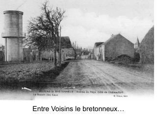 Entre Voisins le bretonneux…