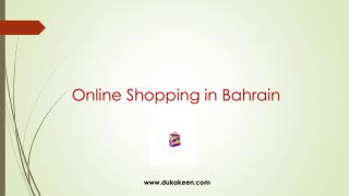 Online shopping in Bahrain