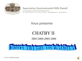 L'Association Internationale Nebi Daniel
