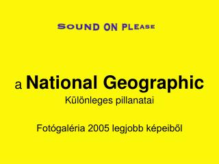 a  National Geographic