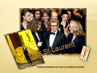Yves St-Laurent