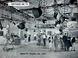 / / / ESTUDIO DE TV
