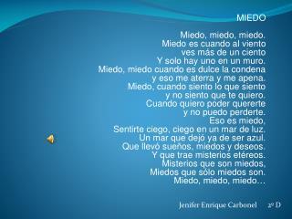 Jenifer  Enrique  Carbonel       2º D