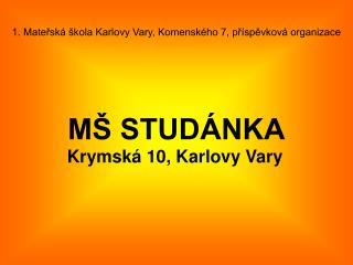 M� STUD�NKA