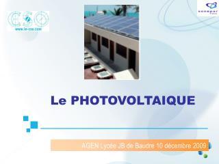 AGEN Lycée JB de Baudre 10 décembre 2009