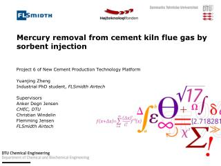 Mercury removal from cement kiln flue gas by sorbent injection