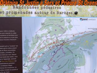 Oratoire St Justin � Sers et Prieur� St Orens