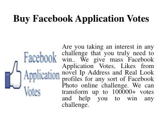 Buy Votes Online