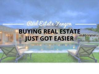 A Trusted Real Estate Consultancy in Yangon