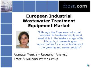 European Industrial Wastewater Treatment Equipment Market