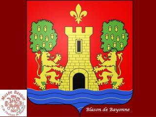 Blason de Bayonne