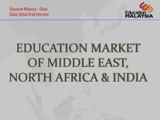 Education market of middle east, north Africa & India