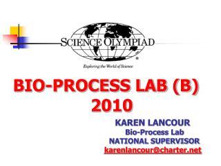 BIO-PROCESS LAB (B) 2010