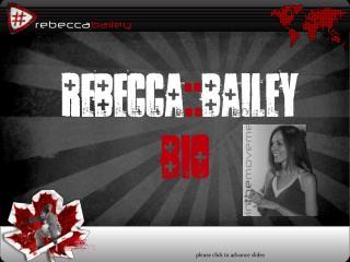Rebecca :: Bailey        bio