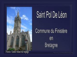 Saint Pol De L�on