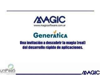 Una invitación a descubrir la magia (real) del desarrollo rápido de aplicaciones.